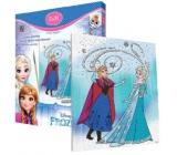 Ditipo Disney Frozen Malování na plátno s glitrem pro děti 5+