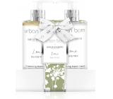 Baylis & Harding Urban Barn Lime, basil and mint cleansing gel 300 ml + body lotion 300 ml, cosmetic set