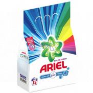 Ariel Color Touch of Lenor Fresh prací prášek na barevné prádlo krabice 18 dávek 1,35 kg