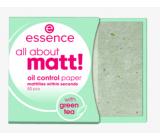 Essence All About Matt! papírky proti mastnotě 50 kusů