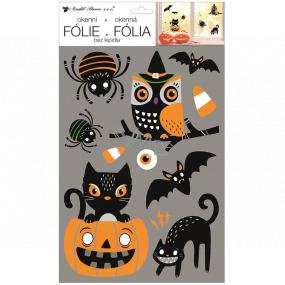 Okenní fólie 25x42 cm Halloween