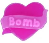 Bomb Cosmetics Srdce - Hearts Desire 3D Přírodní glycerinové mýdlo 90 g