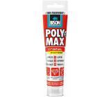 Bison Poly Max Crystal Express rychleschnoucí univerzální montážní lepidlo a tmel Čirý 115 g