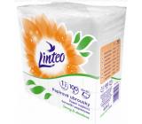 Linteo Satin papírové ubrousky 33 x 33 cm 100 kusů bílé