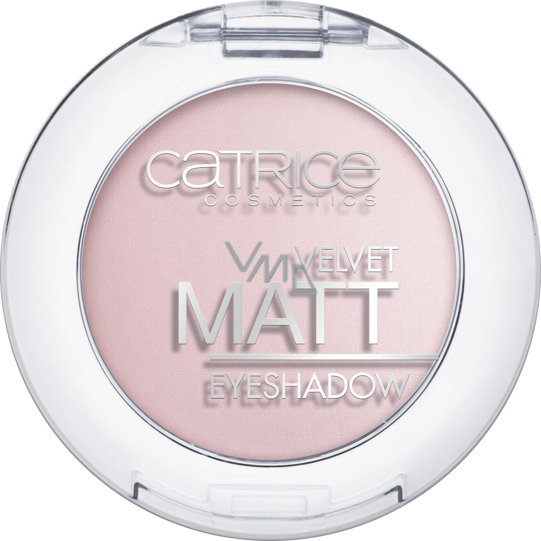 Catrice Velvet Matt Eyeshadow oční stíny 020 Pink-Up Girls 3,5 g
