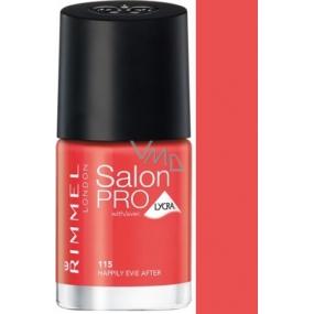 Rimmel London Salon Pro Lycra lak na nehty 115 Happily Evie After 12 ml
