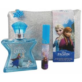 Disney Frozen toaletní voda 50 ml + lesk na rty 7 ml dívčí kazeta