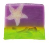 Bomb Cosmetics Sametová hvězda - Velvet Star Přírodní glycerinové mýdlo 100 g
