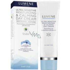 Lumene Ultra Sensitive Moisturizing & Calming Day Cream uklidňující denní krém pro velmi citlivou pleť 50 ml