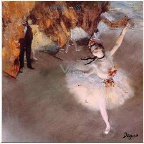 Le Blanc L Etoile - Edgar Degas Vonný sáček Bavlna 11 x 11 cm 8 g