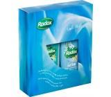 Radox Feel Active sprchový gel 250 ml + Stress Relief pěna do koupele 500 ml, kosmetická sada