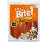Brit Lets Bite Fillet Chicken filety kuřecí prsa pamlsek pro psy 400 g