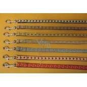B&F Souprava Nylon.obojek + vodítko 1,5 x 26-38/125 cm 1 kus