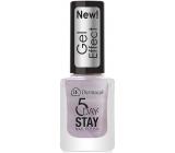 Dermacol 5 Day Stay Gel Effect dlouhotrvající lak na nehty s gelovým efektem 31 Bijoux 12 ml