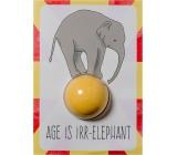 Bomb Cosmetics Věk je irelevantní - Age is Irr-elephant Šumivé přání s balistikem 40 g