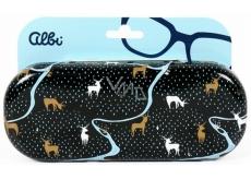 Albi Original Pouzdro na brýle plechové Jelínci 15,7 x 6,2 x 3,2 cm