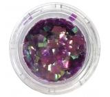 Professional Ozdoby na nehty čtverečky fialové 132