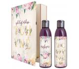 Bohemia Gifts Tchýně sprchový gel 200 ml + šampon na vlasy 200 ml, kniha kosmetická sada