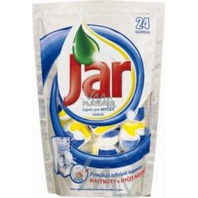 Jar Platinum Lemon kapsle do myčky nádobí 24 kusů