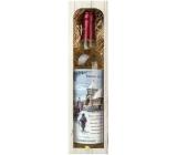 Bohemia Gifts & Cosmetics Chardonnay Štědrý večer nastal víno 750 ml, dárková sada