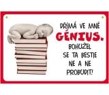 Nekupto Humor po Česku humorná cedulka 014 15 x 10 cm 1 kus
