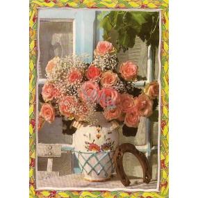 Nekupto Pohlednice Růžové růže, PC