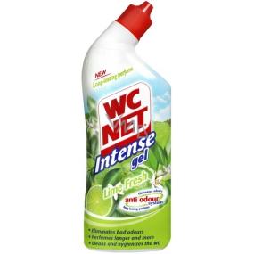 Wc Net Intense Gel Lime Fresh Wc gelový čistič 750 ml