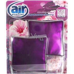 Air Menline Deo Picture Non Stop Elegant Japanese Cherry gelový osvěžovač vzduchu náhradní náplň 2 x 8 g