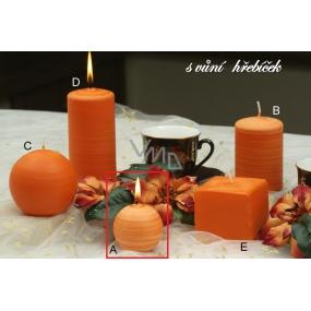 Lima Wellness Hřebíček aroma svíčka koule 60 mm 1 kus