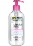 Garnier Skin Active Micelární čistící gel pro citlivou pleť dávkovač 200 ml