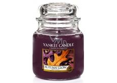 Yankee Candle Autumn Glow - Zářivý podzim vonná svíčka Classic střední sklo 411 g