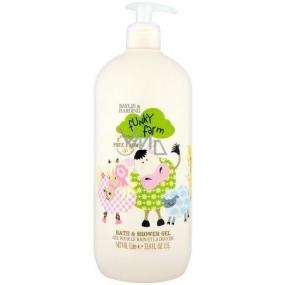 Baylis & Harding Kids Zděšená farma Heřmánek koupelový a sprchový gel pro děti dávkovač 1 l