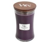 WoodWick Fig - Fík vonná svíčka s dřevěným knotem a víčkem sklo velká 609,5 g
