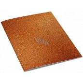 Ditipo Sešit Glitter Collection A5 linkovaný oranžový 15 x 21 cm 3425