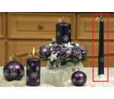 Lima Vločka svíčka lila kužel 22 x 250 mm 1 kus