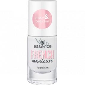Essence French Manicure Tip Painter lak na špičky nehtů 02 Give Me Tips! 8 ml