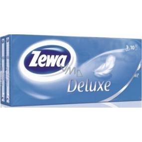 Zewa Deluxe papírové kapesníky 3vrstvé 10 x 10 kusů