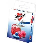 Pepino Mix Berry kondom z přírodního latexu 3 kusy
