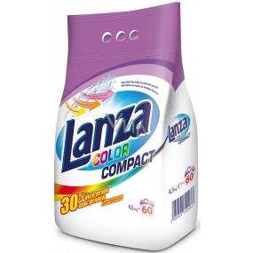Lanza Color Compact prací prášek na barevné prádlo 60 dávek 4,5 kg