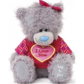 Me to You Medvídek v tričku s nápisem I Love You s mašlí 14,5 cm