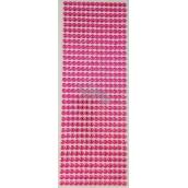 Albi Samolepicí kamínky růžové 5 mm 462 kusů