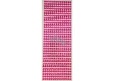 Albi Samolepící kamínky růžové 5 mm 462 kusů