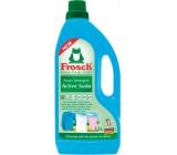 Frosch Eko Aktivní sodoa prací gel na bílé i barevné prádlo 22 pracích dávek, 1,5 l