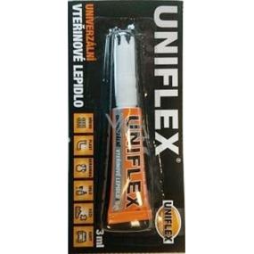 Uniflex Univerzální vteřinové lepidlo plato 12 x 3 g