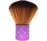 Kosmetický štětec na pudr fialová rukojeť 7 cm 30450