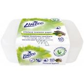 Linteo Satin vlhčený toaletní papír s dubovou kůrou box 60 kusů