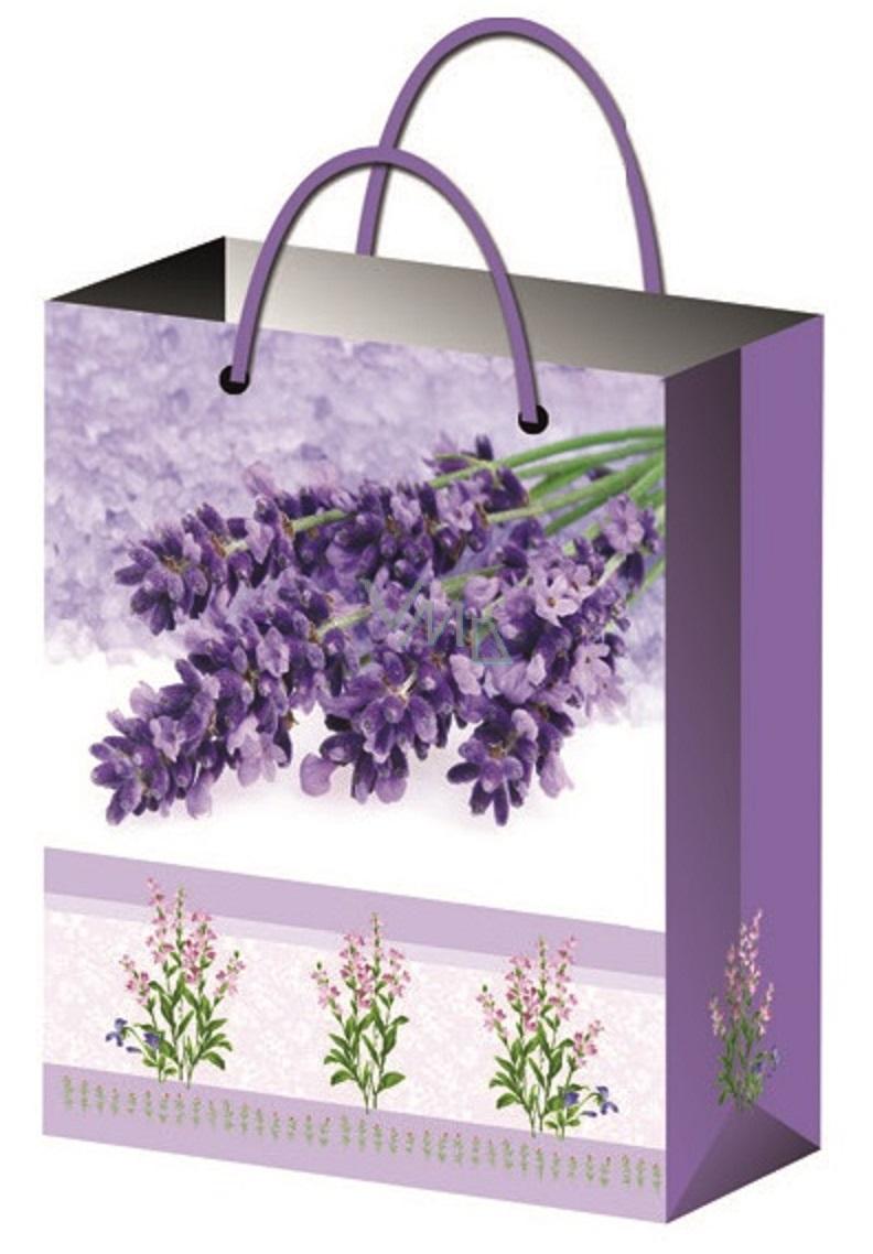 All-year gift bag L- lavender bundle 32x26x12,7cm 12181 6842