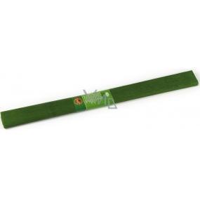 Koh-i-Noor Krepový papír 50 x 200 cm, olivově zelený