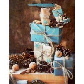 Nekupto Dárková papírová taška 23 x 18 x 10 cm Vánoční 1522 WLBM