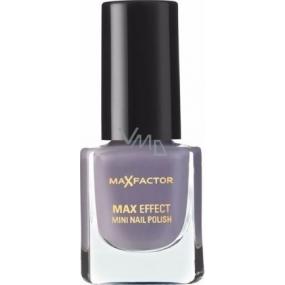 Max Factor Max Effect Mini Nail Polish lak na nehty 34 Juicy Plum 4,5 ml